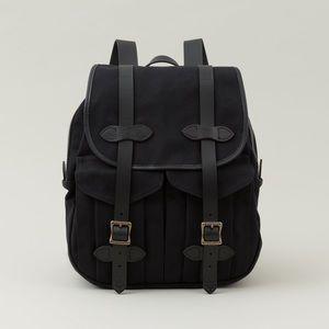 RARE black Filson rugged twill rucksack